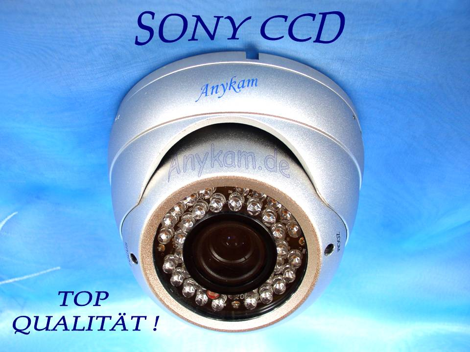 dome kamera berwachungskamera 36 infrarot leds 1 3 sony had ccd 520tvl f 4 9mm. Black Bedroom Furniture Sets. Home Design Ideas