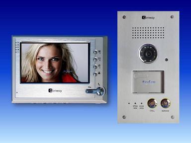cat5 video t rsprechanlage sony ccd kamera typ g9v11. Black Bedroom Furniture Sets. Home Design Ideas