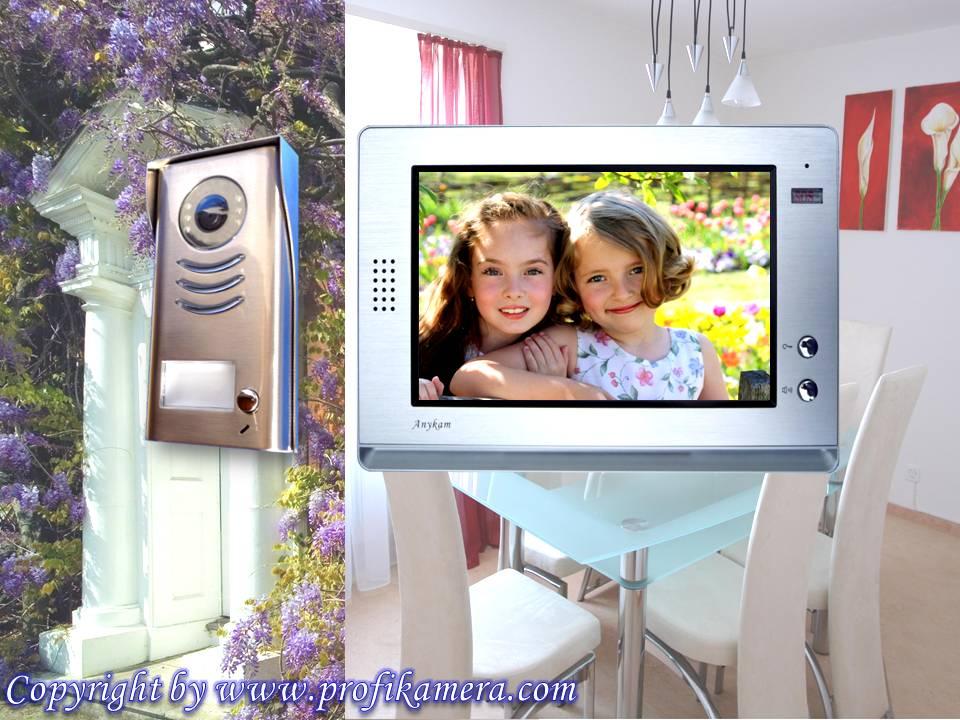 video t rsprechanlage anykam zweidrahttechnik 10zoll bildspeicher dt591 dt21sd ebay. Black Bedroom Furniture Sets. Home Design Ideas