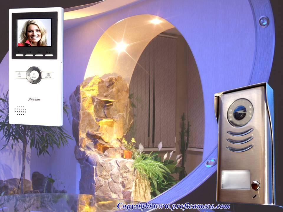 video t rsprechanlage 2draht gegensprechanlage mit kamera. Black Bedroom Furniture Sets. Home Design Ideas