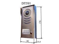 DT-591 Türstation Edelstahl, Aufputz