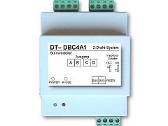 Modul DT-DBC-4 für Sternverteilung Türsprechanlagen
