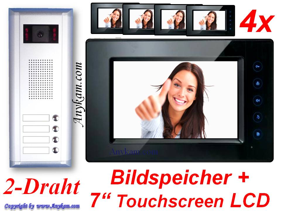 profikamera video t rsprechanlage videosprechanlage. Black Bedroom Furniture Sets. Home Design Ideas