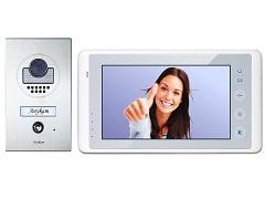 Video Türsprechanlage Klingel mit Kamera, Bildspeicher 2-Draht DT597+ DT27-W-SD