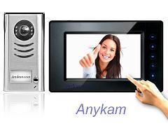 DT591+DT14SD Video Türsprechanlage Klingelanlage Monitor mit Bildspeicher 2Draht
