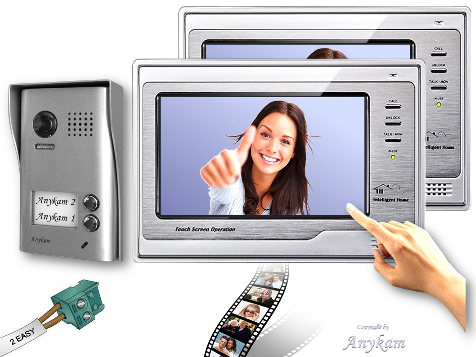 2 draht videosprechanlage 602d 2xdt692sd t rsprechanlage bildspeicher 2 parteien ebay. Black Bedroom Furniture Sets. Home Design Ideas