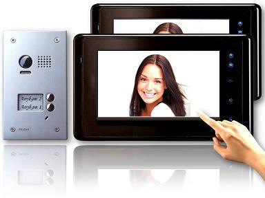 dt603d 2x dt27bsd video t rsprechanlage klingelanlage kamera 2 familienhaus. Black Bedroom Furniture Sets. Home Design Ideas