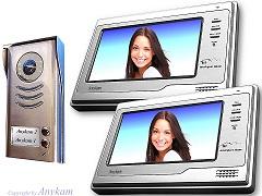 592+692 Video Türsprechanlage Videosprechanlage Türklingel 2-Familienhaus 2Draht