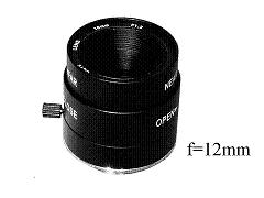 Objektiv D12, Fixfocal, f=12mm, manuelle iris, CS-mount