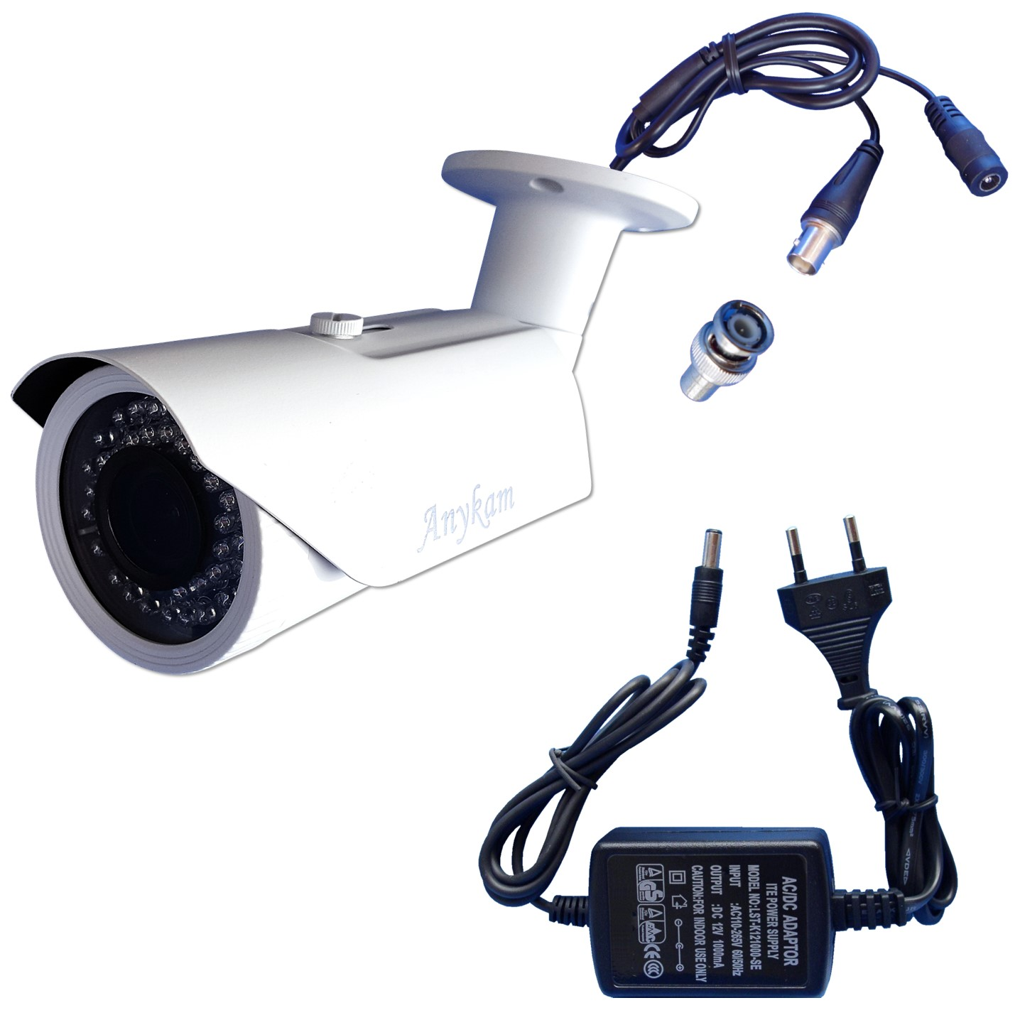 Lieferumfang Infrarotkamera mit 2,1Megapixel bei anykam