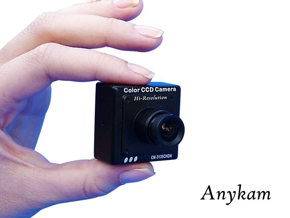 Hochauflösende Farb Mini Kamera Minikamara Profikamera mit Sony CCD Spionkamera bei profikamera