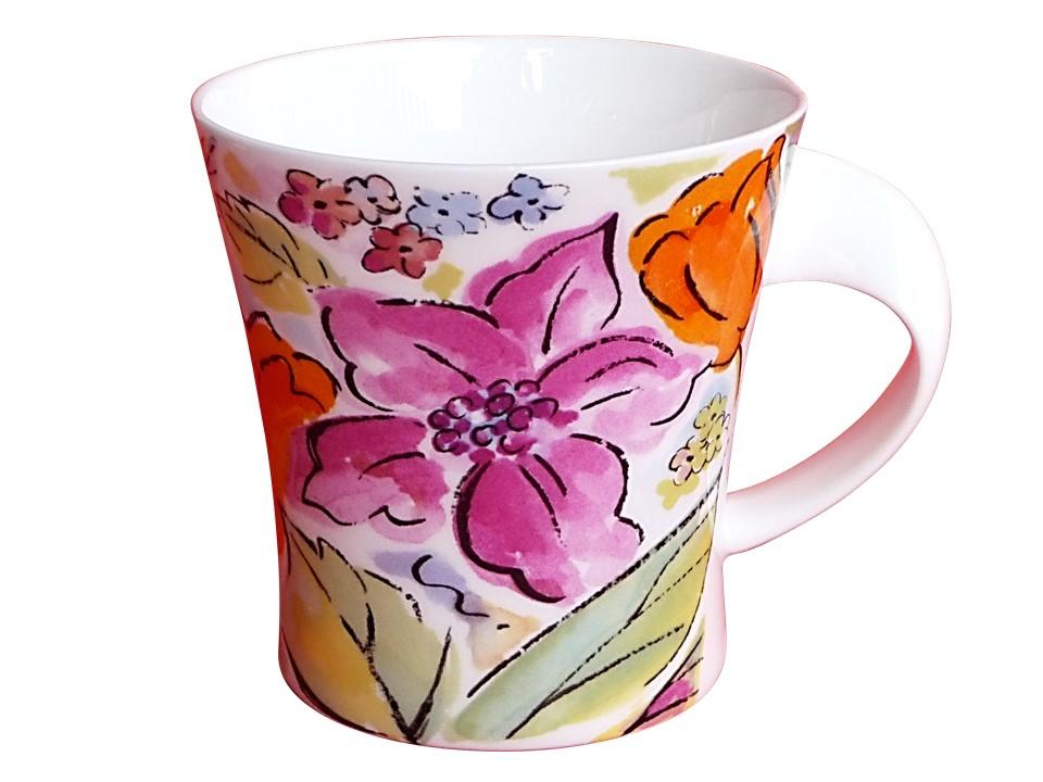 Jumbotasse Tasse aus fine bone china porzellan