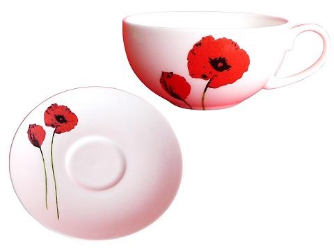 fine bone china porzellan tasse und teller