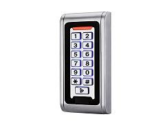 Zutrittskontrolle Code- und RFID für Türöffner, Aufputzmontage