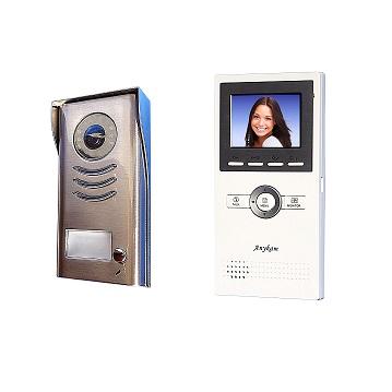 DT591+DT16 Video Klingelanlage mit Kamera Türsprechanlage 2-Draht Technik