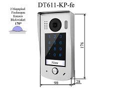 DT-611KP-fe Türstation Code, Edelstahl, Aufputz
