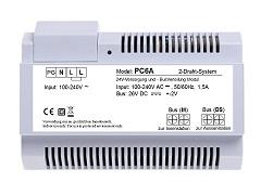 Modul PC6B für Anschluss unserer 2-Draht Türsprechanlagen