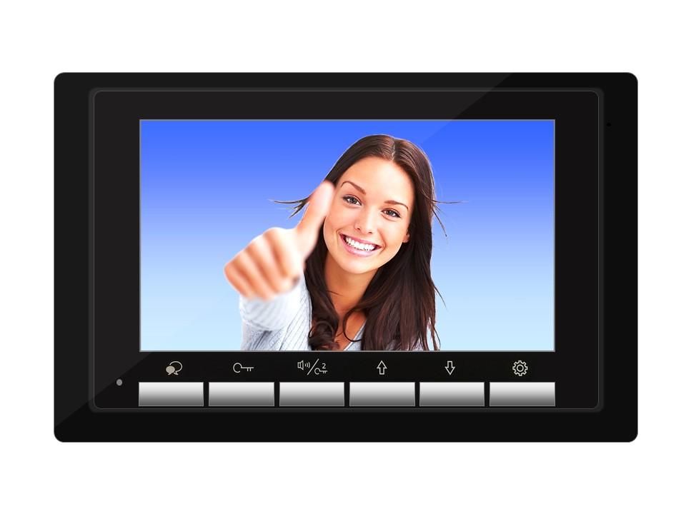 Monitor DT17B der Videosprechanlage mit 2Draht Technik