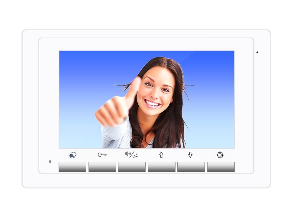 Monitor DT17W der Videosprechanlage mit 2Draht Technik