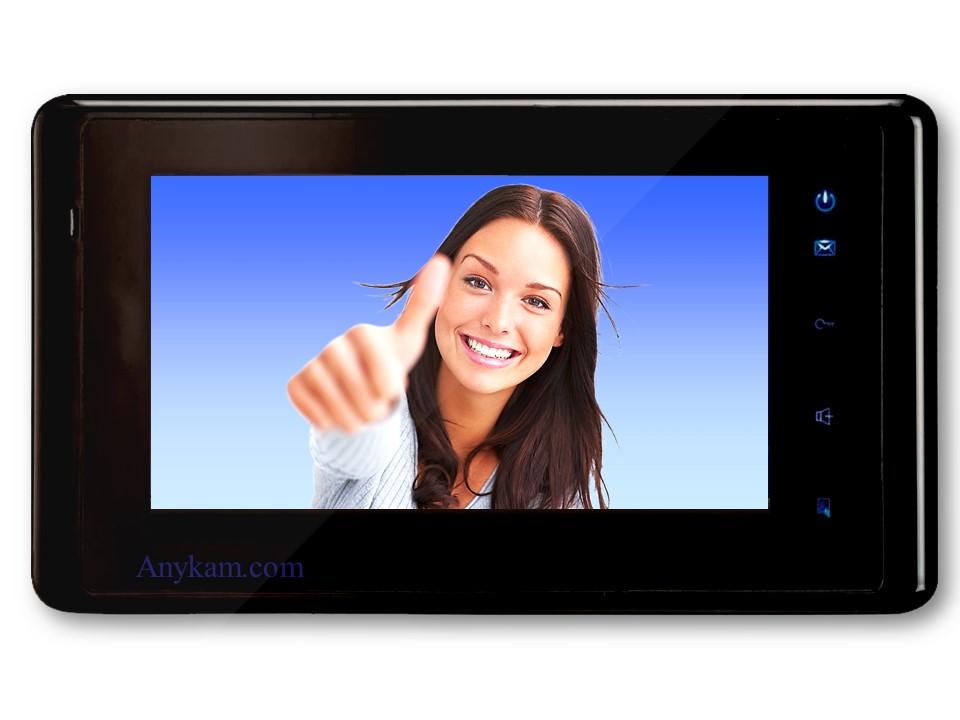 Monitor DT-27W der Videosprechanlage mit 2Draht Technik