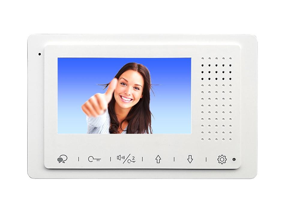 Monitor DT-433 der Videosprechanlage mit 2Draht Technik