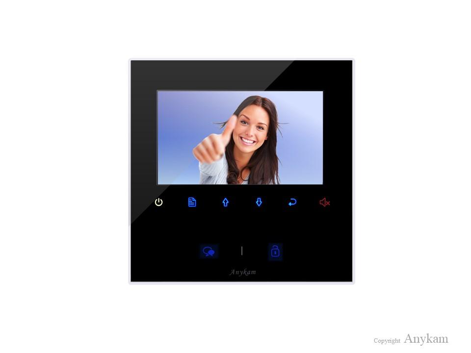 Monitor DT-43 der Videosprechanlage mit 2Draht Technik