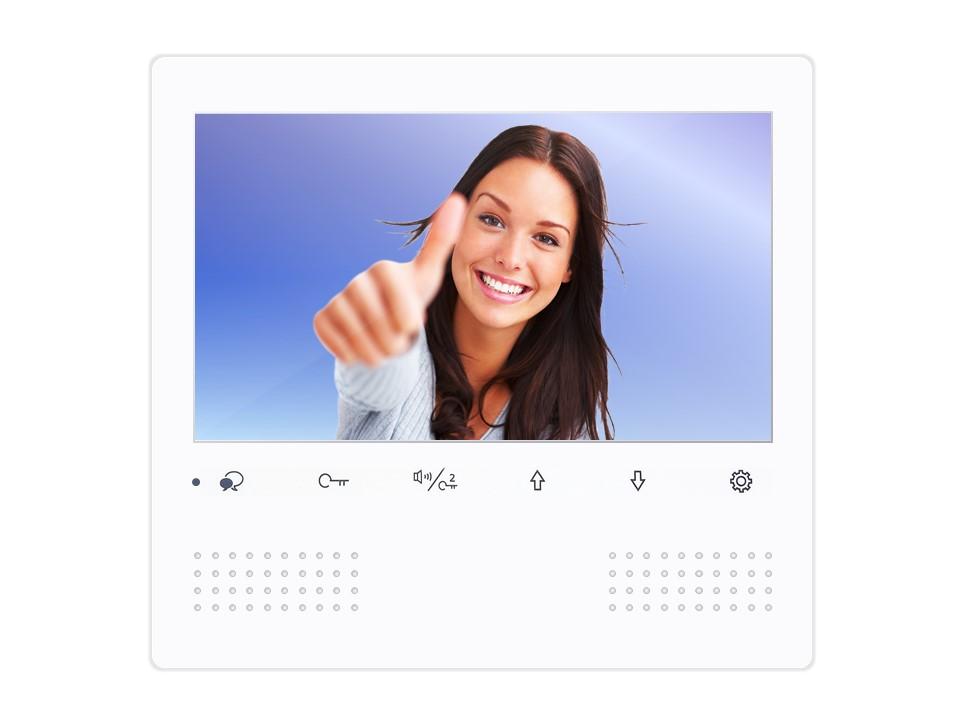 Monitor DT472W der Videosprechanlage mit 2Draht Technik