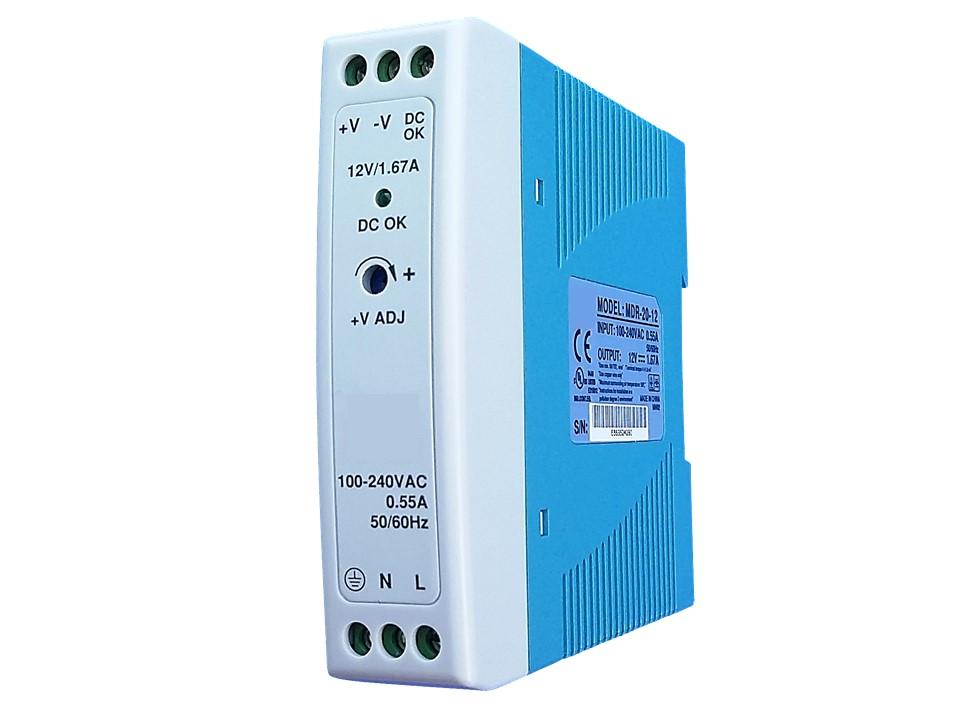 Gleichstromtrafo für Video Türsprechanalge Videosprechanlage Gegensprechanlage und Überwachungskameras von Anykam
