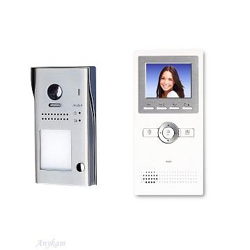 607idfeS1 1xDT16 Video Türsprechanlage Videosprechanlage Einfamilienhaus 2Draht