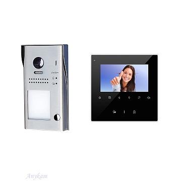 617S1 1xDT43B Video Türsprechanlage Videosprechanlage 1 Familienhaus 2Draht Bus