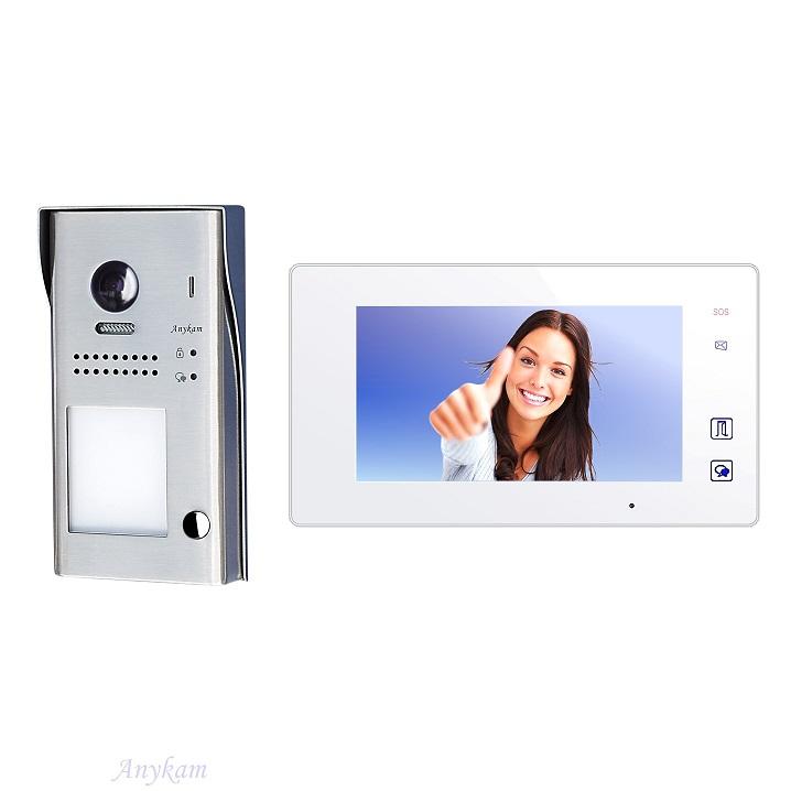 Video gegensprechanlage Zutrittskontrolle Türöffner RFID, Aufputzmontage DT607-S1