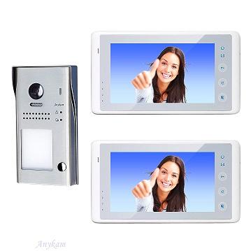 607idfeS1 2x 27W Video Türsprechanlage Videosprechanlage Einfamilienhaus 2Draht