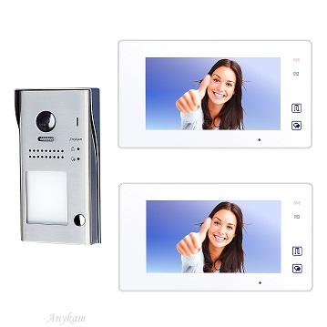 607idfeS1 2x 47MW Video Türsprechanlage Videosprechanlage Einfamilienhaus 2Draht