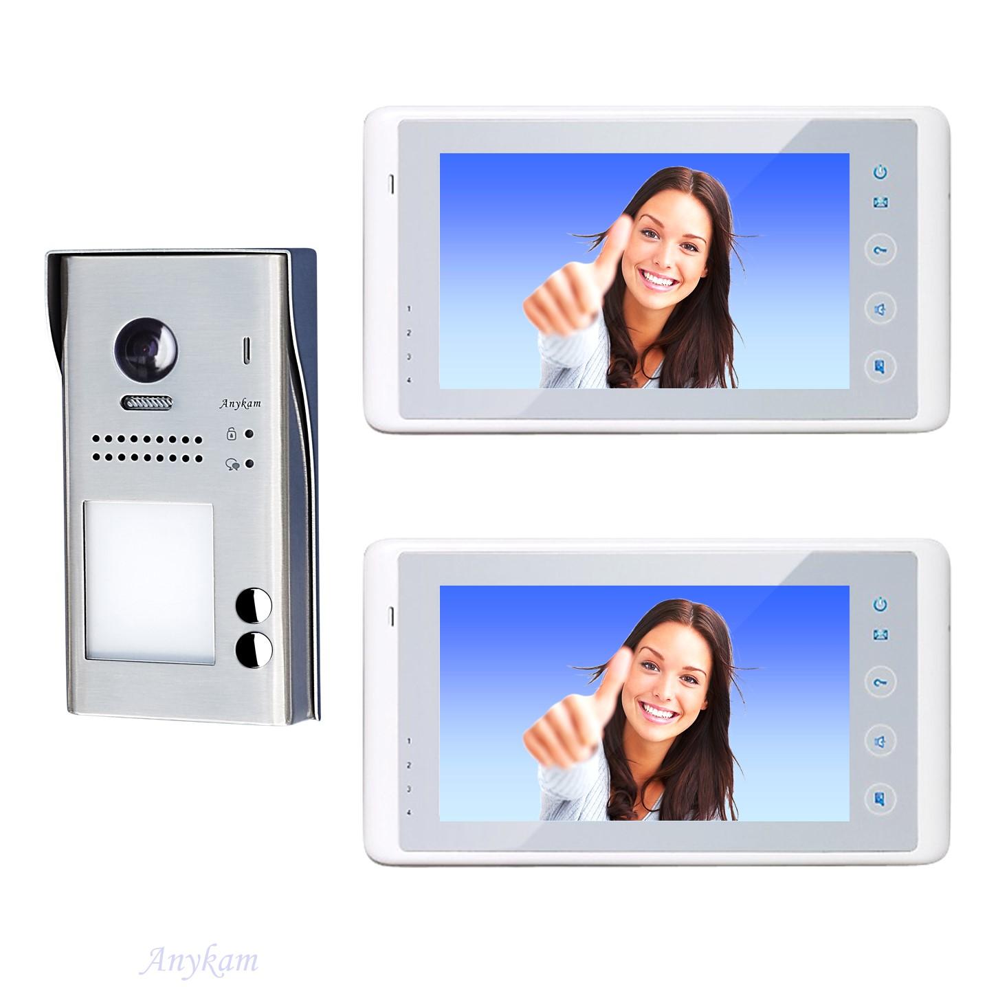 video t rsprechanlage 2 draht gegensprechanlage klingel mit 170grad kamera 60727 ebay. Black Bedroom Furniture Sets. Home Design Ideas