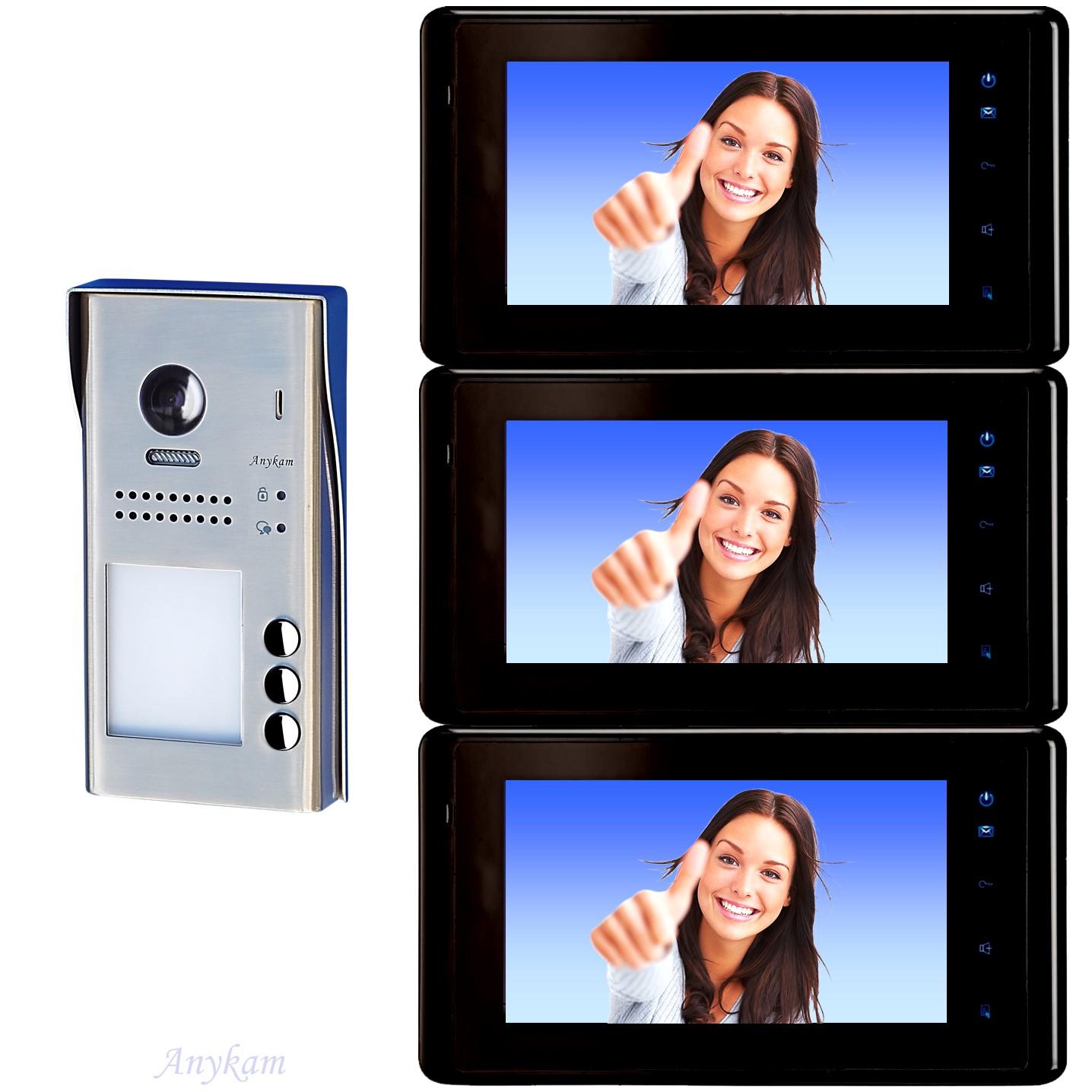 Video Sprechanlage 1 Familienhaus Türfreisprechanlage Türklingel Touchscreen