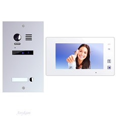 ES1m+ 1xDT47MGW Video Türsprechanlage Videosprechanlage 1-Familienhaus 2Draht