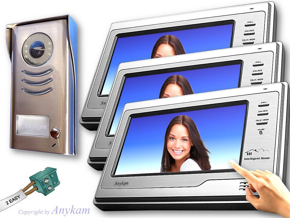 dt591 3x692 video t rsprechanlage 2draht zutrittskontrolle. Black Bedroom Furniture Sets. Home Design Ideas