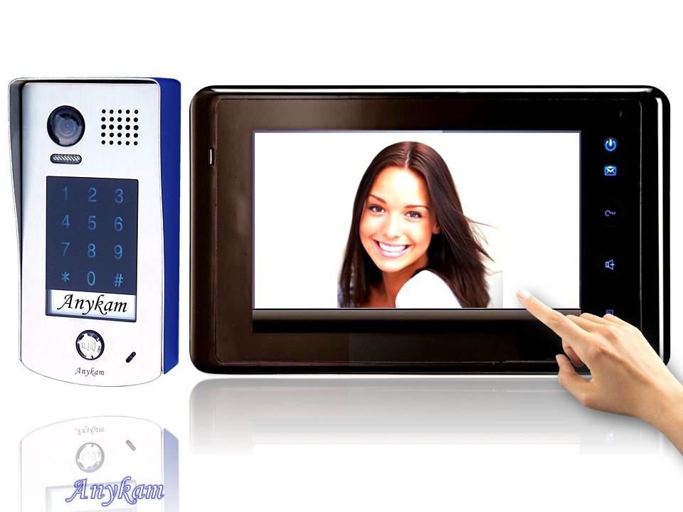 dt601kp 27b video t rsprechanlage gegensprechanlage code keypad 2 draht. Black Bedroom Furniture Sets. Home Design Ideas