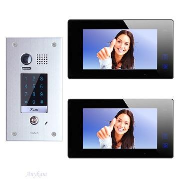 DT601FKP-fe 2xDT47MB Videosprechanlage Gegensprechanlage Code Zutrittskontrolle