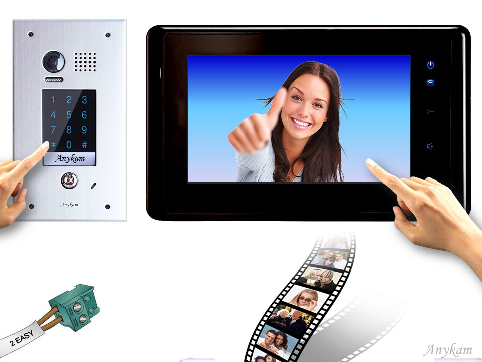 dt601fkp fe 27sd b videosprechanlage code keypad gegensprechanlage speicher. Black Bedroom Furniture Sets. Home Design Ideas