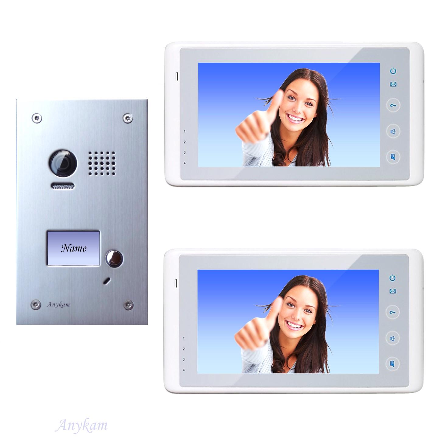dt603fe 2x dt27w videosprechanlage t ranlage video gegensprechanlage 2 draht. Black Bedroom Furniture Sets. Home Design Ideas