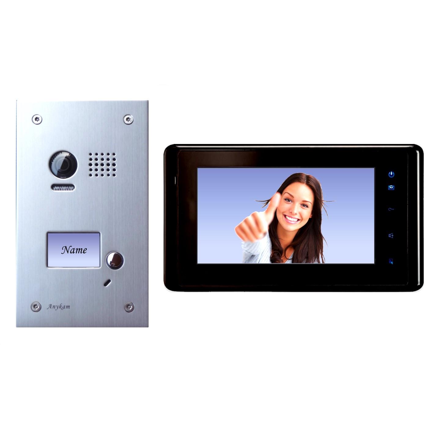 dt603fe dt27b videosprechanlage t ranlage video gegensprechanlage 2 draht. Black Bedroom Furniture Sets. Home Design Ideas