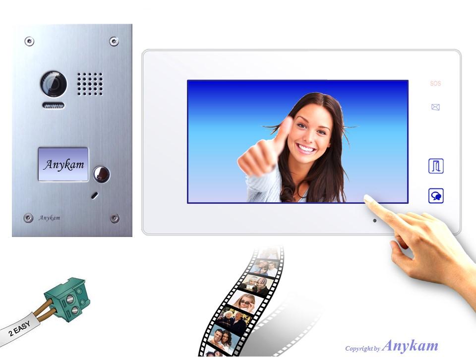 dt603fe dt47mw videosprechanlage t ranlage video gegensprechanlage 2 draht. Black Bedroom Furniture Sets. Home Design Ideas