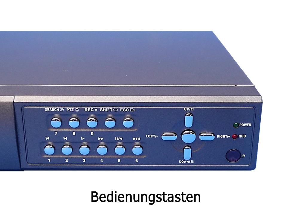 Bedienung Festplattenrekorder